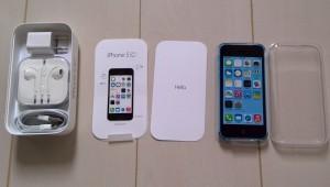 iPhone5c正面
