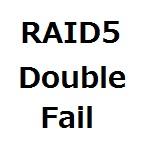 RAID5のHDD2本障害が発生したのでデータ復旧を試みた